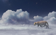 Cartier Winter Tale, art direction, animation 3d, matte painting, background design