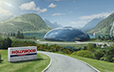 hollywood chewing gum, concept design, animation 3d, matte painting, background design